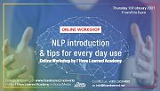NLP intro & Tips for every day use - Online Workshop by I Have Learned Academy