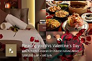 Valentine Package at Regency Palace