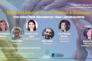 NGOs in Lebanon: Situation & Challenges - Free Online Panel Discussion by I Have Learned Academy