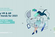 Why VR & AR are trends for 2021 - Free Online session by I Have Learned Academy & Saradar