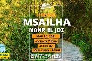 Msailha - Nahr el Joz hiking with HL961