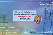 Electricity in Lebanon: Situation & Solutions - Free Online Session by I Have Learned Academy & KAS