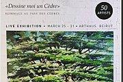 Dessine moi un Cèdre - Exhibition Arthaus Beirut