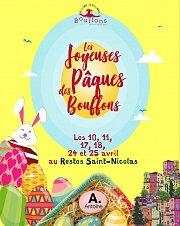 Les Joyeuses Pâques des Bouffons at Restos St Nicolas