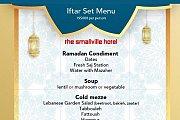 Iftar at Smallville Hotel