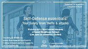 Self Defense Essentials: Your Safety from Theft & Attacks - Live Session by I Have Learned Academy  at Sunset Woodhouse Batroun