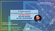 E-Government Best Practices & Opportunities - Free Online Session by I Have Learned Academy & KAS