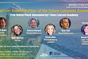 Tourism: Essential Pillar of the Future Lebanese Economy - Free Online Panel Discussion - IHL