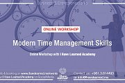Modern Time Management Skills - Online Workshop by IHL Academy