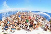 Bachelor party on a boat