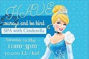 SPA with Princess Cinderella