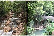 Bazhel to Ibraham River(Hike+Swim) with Golden feet