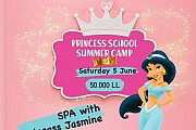 SPA with Princess Jasmine at Talent Square