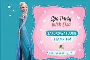 """SPA with Princess Elsa """"Frozen"""" at The Talent Square"""