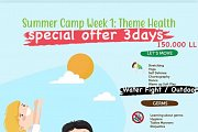 """Talent Square Summer Camp 2021 """" week 1 Theme HEALTH """""""