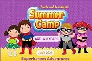 "Talent Square Summer Camp 2021 "" week 2 Theme SUPERHEROES ADVENTURES """