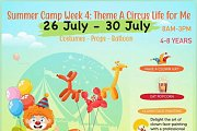 """Talent Square Summer Camp 2021 """" week 4 Theme Circus Life """""""