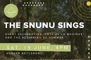 The snunu sings