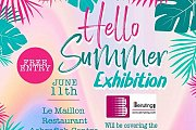"""""""Hello Summer Exhibition"""" by Madisse"""