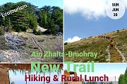 Ecotourism day in Ain Zhalta - Bmohray: Hiking a new trail & Rural Lunch with Green Steps