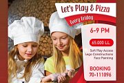 Play and Pizza at Talent Square Playground