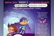 Superheroes Adventure Summer Camp week 2