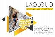 Rock Climbing to Laqlouq