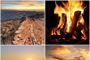 Laqlouk Sunset Hike & Bonfire with Wild Adventures