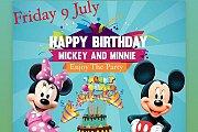 Disney Week  Happy Birthday Mickey & Minnie at The Talent Square