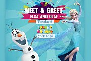 Disney Week  Interactive Dance & Games with Elsa and Olaf at The Talent Square