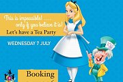 Disney Week Alice & The Mad Hatter Tea Party at The Talent Square
