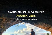 Caving, Sunset Hike, Bonfire, Board Games & Optional Camping at Akoura, Jbeil with Lebanon by Nature