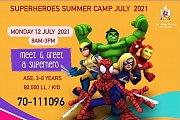 "Talent Square Summer Camp 2021 "" Superheroes"""