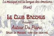 Le Club Bacchus Présente Autour du Piano