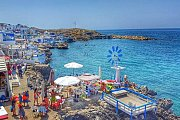 Anforini( Santorini Lebanon) - Boat trip-Hike-Swim with Golden feet
