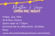 Open Mic Night: Rhythm and Verse at B Hive