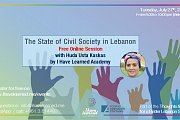 The state of the civil society in Lebanon - Free Online Session by I Have Learned Academy & KAS