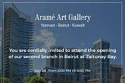 Aramé Art Gallery new branch at Zaitunay Bay