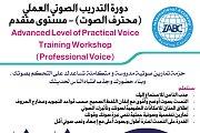 Advanced Level of Practical Voice Training (Professional Voice) Workshop