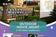 Outdoor Movie Night at The Roman Amphitheater in Batroun