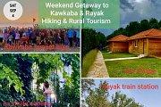 Weekend Getaway to Kawkaba & Rayak with Green Steps : Edition 2021