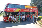 Niha Fortress, Moukhtara Palace & Jezzine village in the open top red City sightseeing double-decker bus