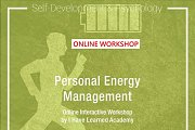 Personal Energy Management Online Interactive Workshop by I Have Learned Academy