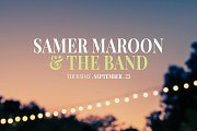 Samer Maroon & the Band Live at Fertil Gardens