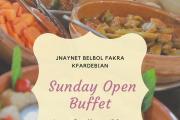 Sunday Open Buffet at Jnaynet Belbol