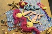 Make Your Own Felt Dolls at Alwan Salma