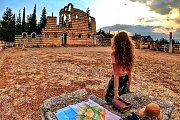 Tour & Sunset Hike at Anjar Ruins, Wetlands Forest and Mountain Caves with Lebanon by Nature