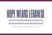 Hope wears Lebanese