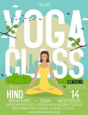 Online Yoga with Hind