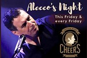 Alecco & The Band playing live every Friday at Cheers Cousin Mike Batroun